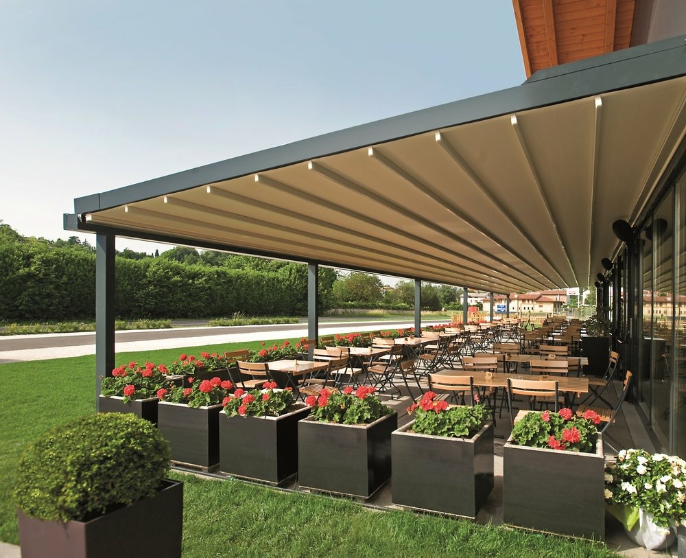 Retractable Pergolas