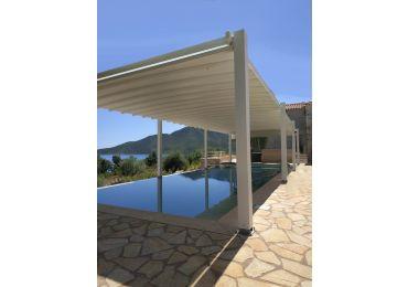 Pergosystem Compact Retractable Roof